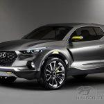 Новый пикап Hyundai Santa Cruze планируют выпускать в 2020 году.