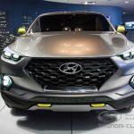 Hyundai Santa Cruze - вид спереди.
