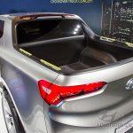Hyundai Santa Cruze - вид сзади.