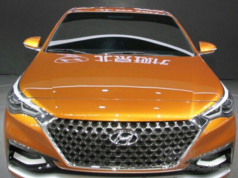 Новый Hyundai Solaris 2 будет похож на концепт-кар Hyundai Verna.