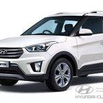 Hyundai Creta вид спереди слева.