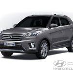 Цвет кузова Hyundai Creta серый Urban Gray (U6G)