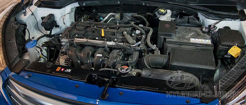 Хёндэ Крета — двигатель.