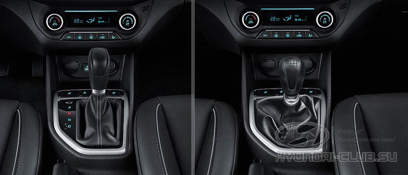 Hyundai Creta — МКПП и АКПП.