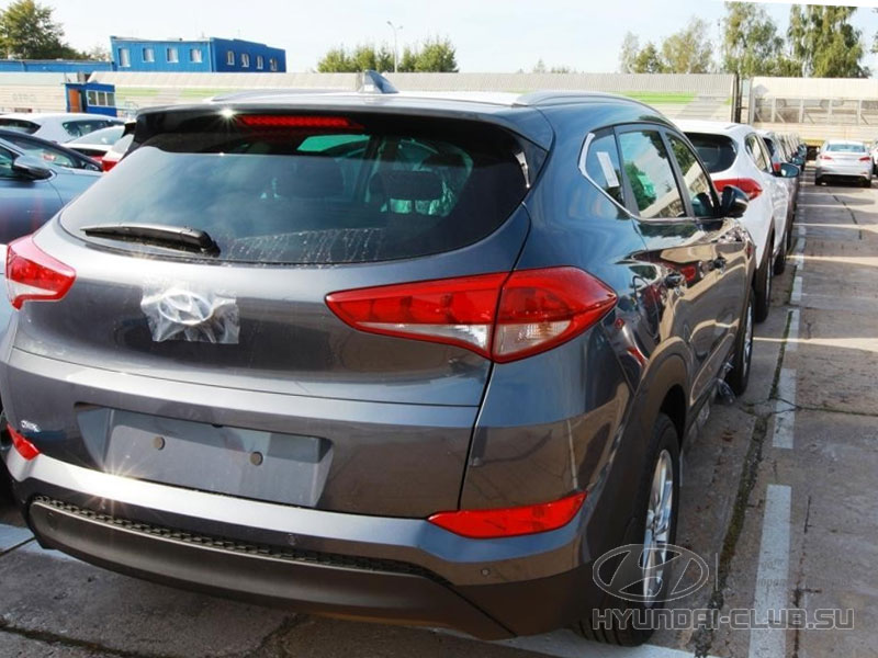 Hyundai Tucson российской сборки в Калининграде.