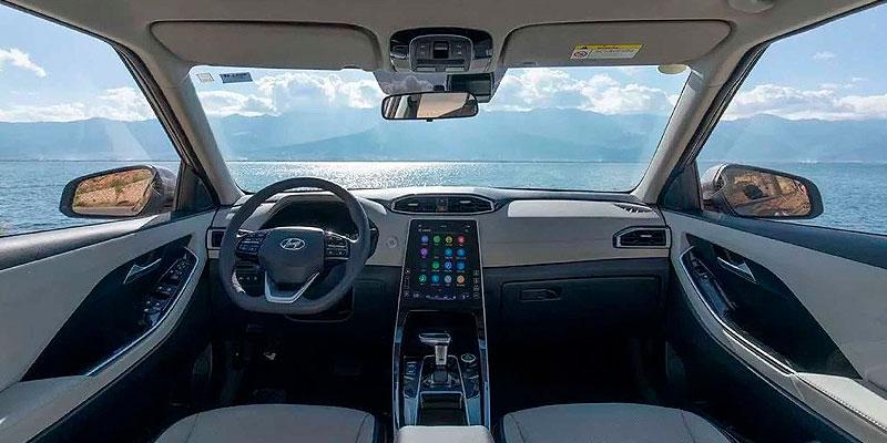 Интерьер Hyundai ix25
