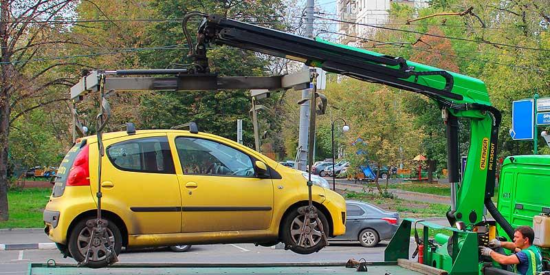 Эвакуация авто после ДТП
