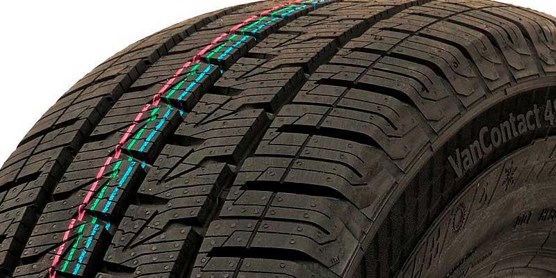 Легкогрузовые шины Continental VanContact 4Season