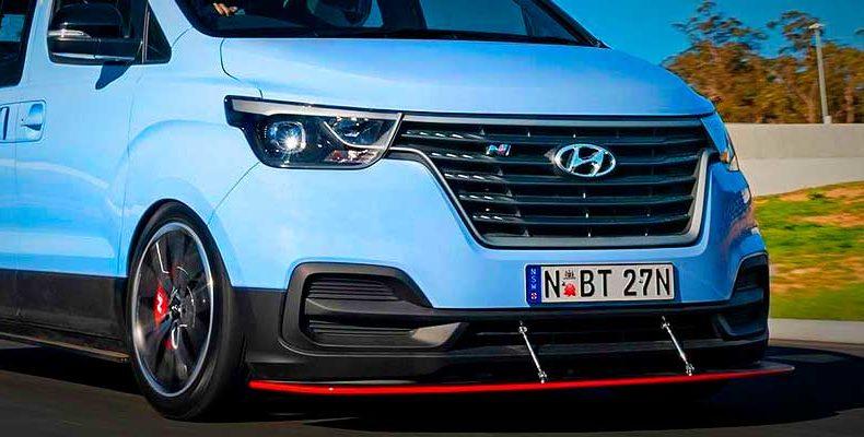 Hyundai показала микроавтобус для дрифта