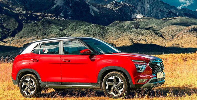 Hyundai показал новую Creta