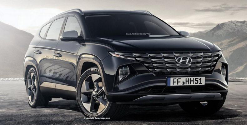 Новый Hyundai Tucson впечатляет своим дизайном